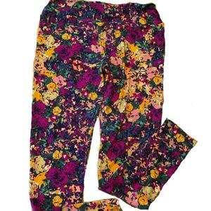 NEW LuLaRoe TC Abstract Floral Leggings